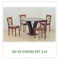 AG 69 DINING SET 1+4